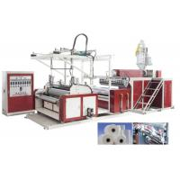 Best HDPE / LDPE Stretch Film Machine For 3 Layers , Film Width 500 - 1500mm wholesale