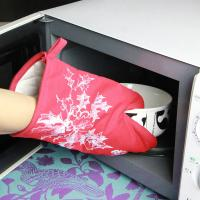Best Kitchen Useful Insulate Cotton Microwave Oven Gloves / Heat Resistant Oven Mitts wholesale