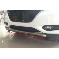 Cheap Stainless Steel Car Bumper Protector for HONDA HR-V VEZEL 2014 Bumper Skid wholesale