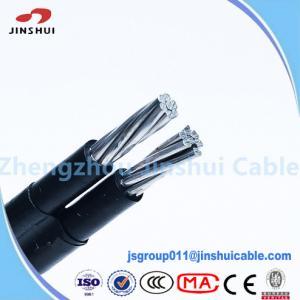 Cheap 1kv / 11kv Abc Cable Service Drop Duplex Conductor , B 399 Aluminum Underground Wire for sale