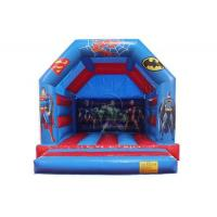 China Inflatable Super hero Bouncy Castle /Inflatable Bounce House WSC-234 on sale