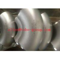 Buy cheap 65mm Radius Stainless Steel Elbow Seamless 77.5/ 44.9 Degree In Silver Colour from wholesalers