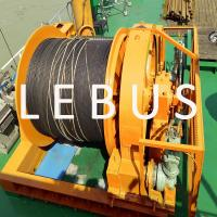 Best Hydraulic Marine Offshore Platform Or Drilling Rig Boat Towing Winch wholesale