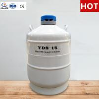 Best TIANCHI Liquid Nitrogen Tank 15L Stainless Steel Storage Container Price wholesale