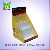 Cheap Customized Paper Pop up Counter Top Display Stands Cardboard PDQ for Books Magazine Brochure for sale