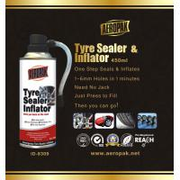 Best White Aeropak Emergency Tyre Repair Sealant Inflator 450ml 650ml wholesale