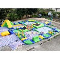 Best CE 14960 Inflatable Floating Water Park With Reinforced PVC Tarpaulin wholesale