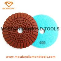Best Copper Hybrid Sunny Shine Dry Polishing Pads for Concrete Surface wholesale