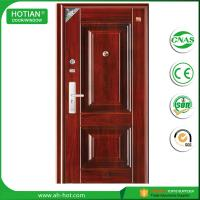 Best Main Entrance House Steel Security Doors Residential Metal Skin Door wholesale