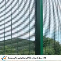 """Buy cheap Anti-Climb Weld Mesh Prison Wire Mesh Fencing With 3""""x0.5""""x8 gauge for from wholesalers"""
