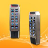 Best Slim Type Standalone Proximity Reader , Wiegand 26 Access Control Rfid Reader wholesale
