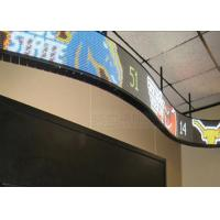 Best P10mm IP43 SMD3528 Soft Flexible Video Display Indoor Full Color 10000dots / M2 wholesale