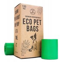 Best 100% Compost Dog Products Doggie Poop Bag Refill Rolls with Dispenser wholesale
