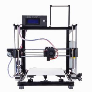 Fastest Aluminum diy Desktop 3d printer machine , More Stable 3 dimensional Printer