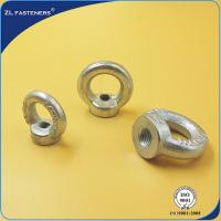 China Galvanized Drop Forged Wire Rope Clips Eye Nuts For Lifting Free Samples on sale
