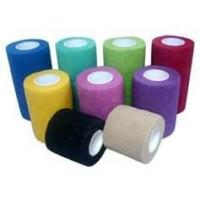 Best Custom breathable hand tear non - woven cohesive elastic bandage for pet wrapping wholesale