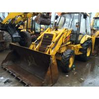 Cheap Original colour Used Backhoe Loader JCB 3CX good condition for sale
