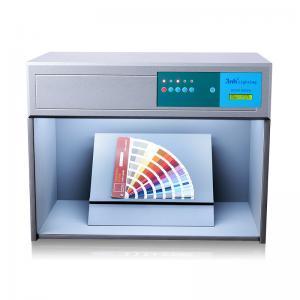 Best Small Size Light Box Color Assessment Cabinet D65 TL84 F UV Four Light Sources wholesale