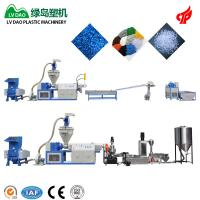 China Dry And Clean Pe Film Plastic Waste Shredder Automatic Grade 100 - 120kg/H Output on sale