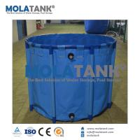 Cheap Molatank Round Pvc Tarpaulin Foldable Cat Fish Pond