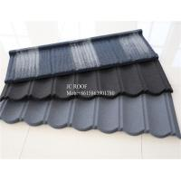 Best Colorful Stone Chip Coated Metal Roof Tiles / Galvalume Steel Roof Tile Sheets wholesale