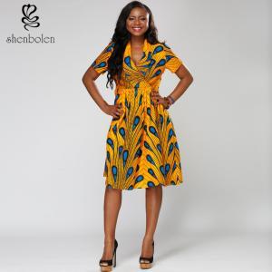 China 100% cotton  African print suit  Ankara batik wax  sleeveless wholesale ladies'  boutique on sale