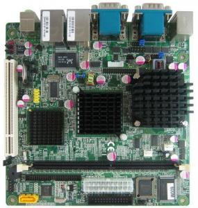 Best Intel 852GM Mini-ITX Motherboard Onboard CPU Fanless wholesale