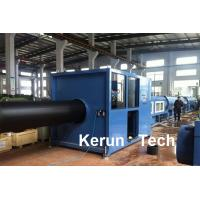 Cheap Hollow Wall HDPE Pipe Extrusion Machine / Hdpe Pipe Extrusion Line for sale