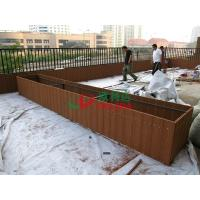 Best WPC Patio Composite Garden Planters Box Waterproof Fading Resistance 2064 X 508 X 400mm wholesale