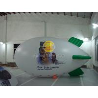 Best White Reusable Versatile Inflatable Advertising Helium Zeppelin with Digital Printing wholesale
