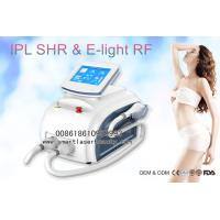 Buy cheap Dual Handles OPT SHR IPL Hair Removal Machine , Portable 3 In 1 Elight IPL Beauty Device from wholesalers