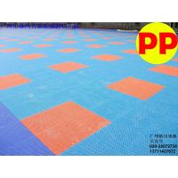 Best Non-toxic Recyclable PP / Wpc / Vinyl Sports Badminton Court Flooring / Floor / Decking wholesale