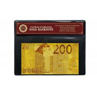 Buy cheap COA 24k Gold Banknote from wholesalers