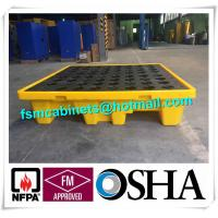 Best Oil Tank Storage HDPE Spill Containment Pallets, Spill Pallet for 220L Oil Drum wholesale