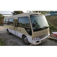 China Diesel Fuel Reliable Second Hand Toyota Coaster Bus 1HZ Engine With 29 Seats on sale