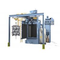 Quality Hook Type Shot Blasting Machine , Surface Sand Rust Removing High Precision Grinding Machine wholesale