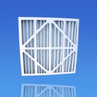 Buy cheap Class 2 Synthetic Fibre Pleated Air Filter - G4 Pleated Pre Filter with 2 Inch, 4 Inch from wholesalers