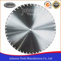 Cheap Laser Welded Diamond Wall Saw Blades Reinforced Concrete Cutting with High Lifetime for sale