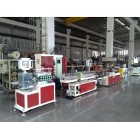 Best AF20 Razor Lubrication Strip Extrusion Production Line , Twin Screw Plastic Extruder Servo Motor wholesale