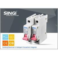 Best Breaking capacity reach to 10000 voltage 230v/400V 20a 50HZ single pole small circuit breaker overload protection wholesale
