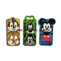 Best Cartoon Style Mobile Phone Silicone Cases apply to Iphone 5 / 5S wholesale