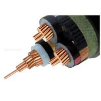 Best Copper 6/10 (12 ) kV 3 Core XLPE Insulated Cable MV Power Cables screened Unarmored Electrical cable wholesale