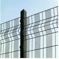 Best Triangle Bending PVC Coated Welded Wire Mesh Fence / High Strength Fence with Triangle Bends wholesale
