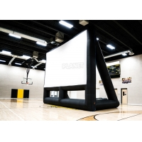 Best Commercial 210D Inflatable Projector Movie Screen With Blower wholesale
