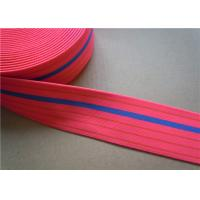 Best Dying Heavy Duty Elastic Webbing For Furniture , Hammock Webbing Straps for garment wholesale