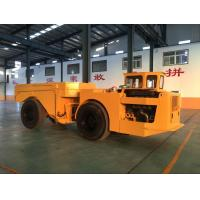 Quality Easy Operation Low Profile Dump Truck 15 Tons For Underground Mining Project wholesale