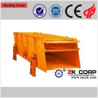 China Double Deck Vibrating Screen / Linear Vibrating Screen for Ore Dressing on sale