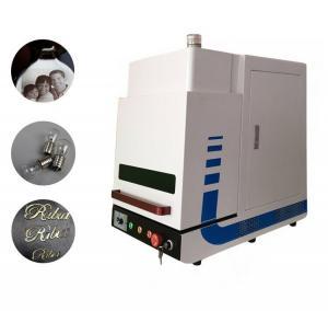 Best Enclosed Desktop Type MINI Fiber Laser Marking Machine for Industrial Marking 20W wholesale