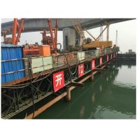 Best 321 Type Bailey Suspension Bridge , Painted Folating Pontoon Military Portable Bridge wholesale