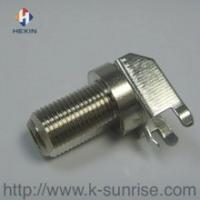 75OM F connector with shielding
